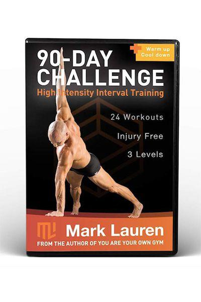 "<p>$35</p><p><a rel=""nofollow"" href=""https://www.amazon.com/Mark-Lauren-Bodyweight-Calisthenics-Workout/dp/B07D7HNLV9/"">SHOP NOW</a></p><p>With 24 bodyweight workouts, there's <a rel=""nofollow"" href=""https://www.womansday.com/health-fitness/a20772434/lost-more-than-100-pounds-without-a-gym/"">no gym</a> or equipment necessary to see results thanks to this workout DVD. You'll start your 90 days of guided training sessions with intense anaerobic exercise, followed by a period of rest, which repeats until the three months are over. There's three levels of difficulty though, so you're guaranteed to find a routine that works well for you. </p>"