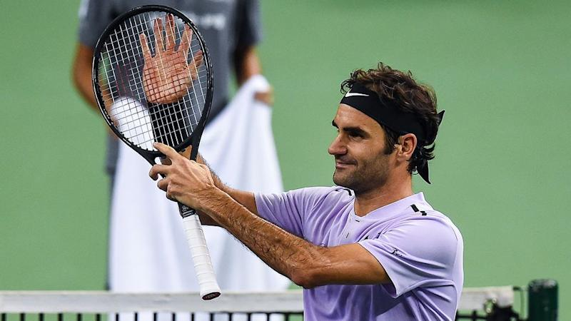 Federer was in irresistible form against Dolgopolov. Pic: Getty