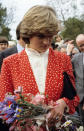 <p>Princess Diana adopted more of a tamed eighties-inspired cut as she began to attend royal engagements following the decision to marry Prince Charles.<br><em>[Photo: PA]</em> </p>