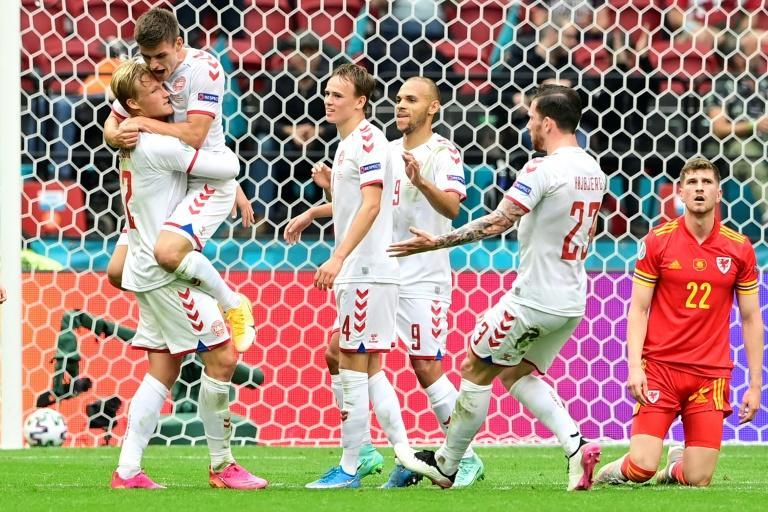 Kasper Dolberg's double against Wales helped propel Denmark into the quarter-finals of Euro 2020
