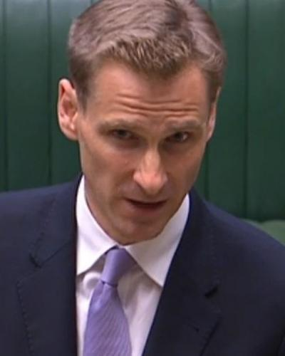 Home Office minister Chris Philp