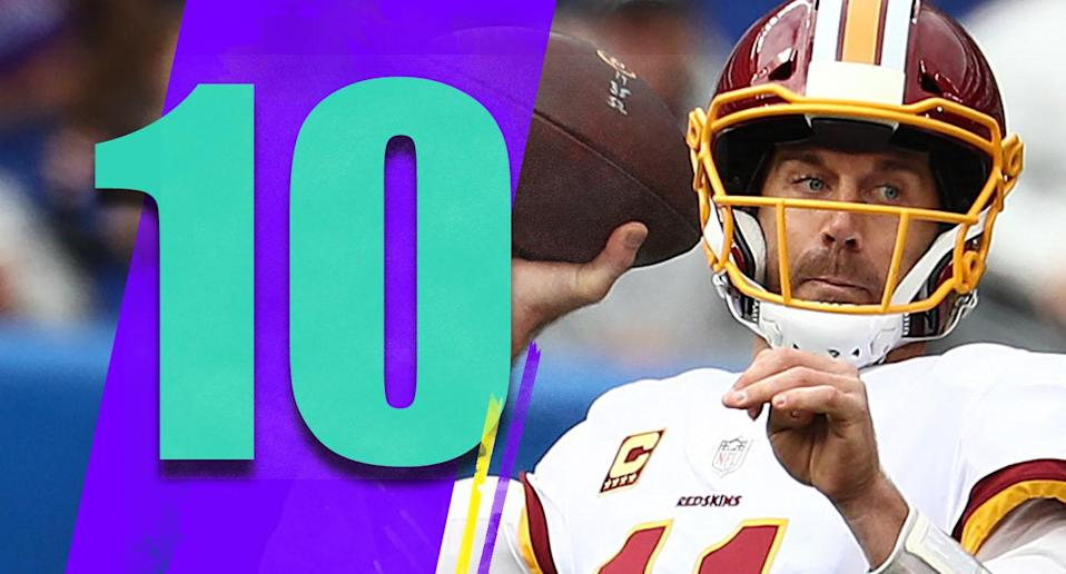 <p>A lot of people, particularly many in Nevada, thought the Giants-Redskins game was practically a tossup. That says a lot about where we are with Washington. (Alex Smith) </p>