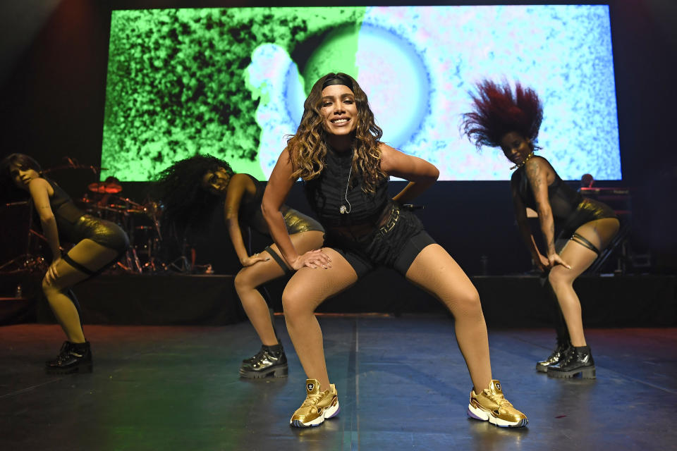 Photo by: zz/KGC-138/STAR MAX/IPx 2019 8/6/19 Anitta performing in concert at Queen Elizabeth Hall during the Nile Rodgers' Meltdown Festival in London, England, UK.