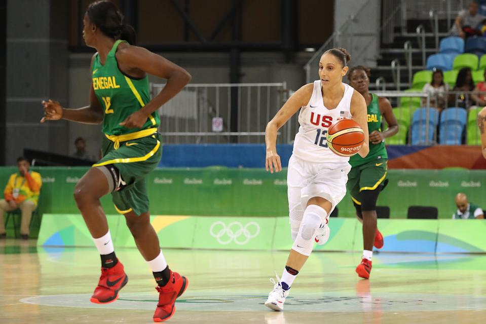 Diana Taurasi won her fourth Olympic gold medal at the 2016 Rio Olympics.