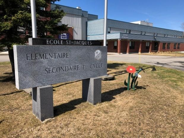 Hundreds of families are self-isolating after two cases of COVID-19 were confirmed at École Saint-Jacques in Edmundston.