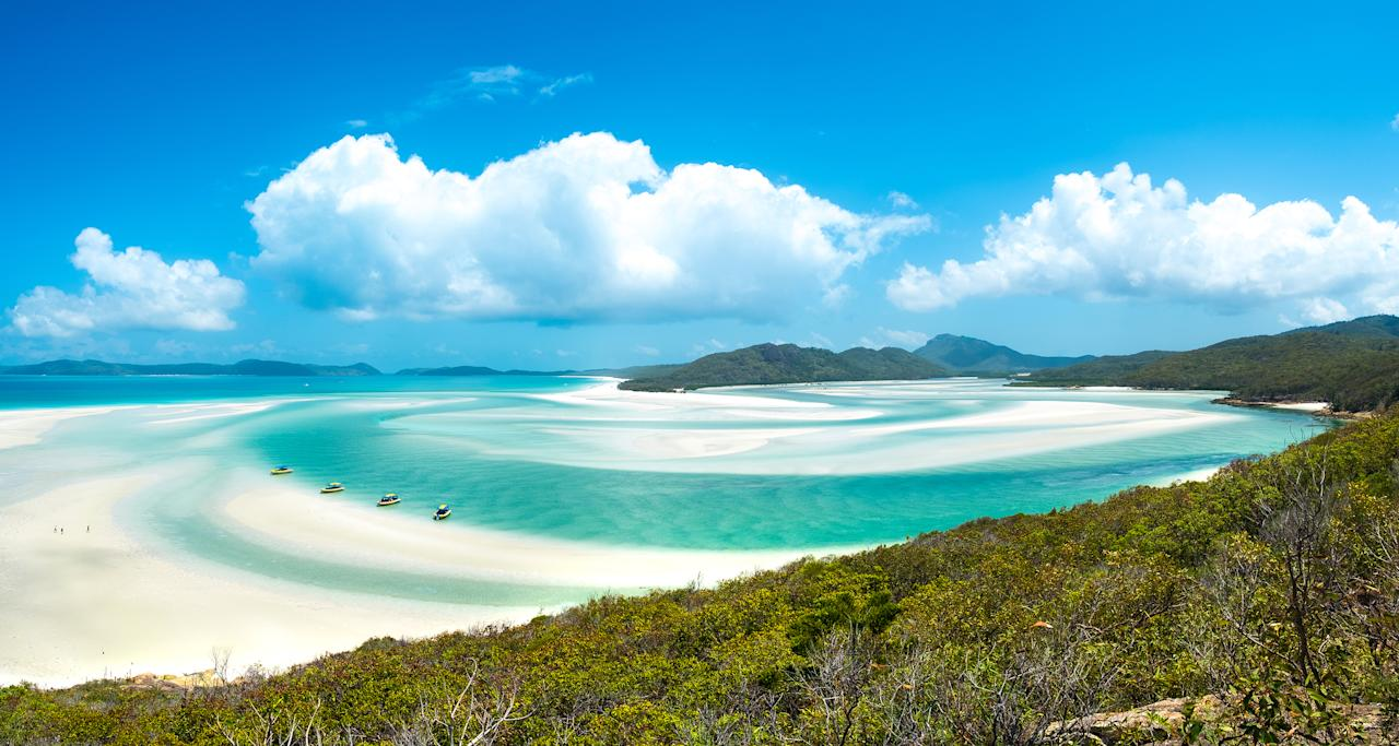 <p>Australia's East Coast is home to some legendary beaches - Whitehaven Beach in the Whitsundays is particularly heavenly. Over on the West Coast, Turquoise Bay in the Cape Range National Park is equally gorgeous. Just watch out for those sharks.</p>