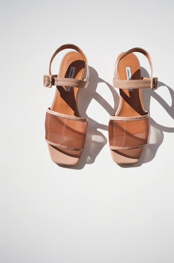 """<br> <br> <strong>About Arianne</strong> Marini Mesh Sandal, $, available at <a href=""""https://go.skimresources.com/?id=30283X879131&url=https%3A%2F%2Flisasaysgah.com%2Fcollections%2Fshoes%2Fproducts%2Fmarini-mesh-sandal-roca"""" rel=""""nofollow noopener"""" target=""""_blank"""" data-ylk=""""slk:Lisa Says Gah"""" class=""""link rapid-noclick-resp"""">Lisa Says Gah</a>"""