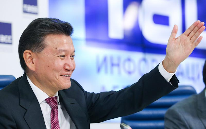 Kirsan Ilyumzhinov was once part of Vladimir Putin's inner circle - TASS