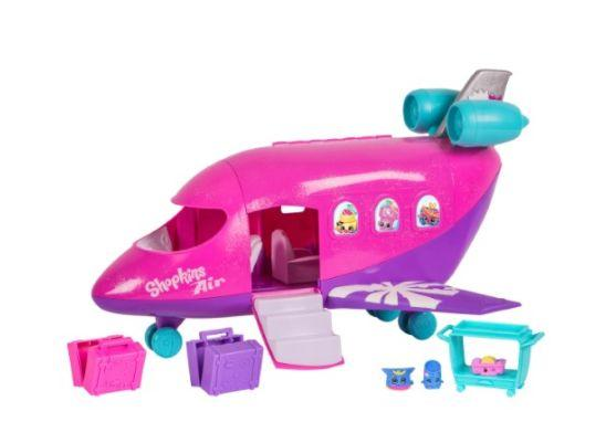 "Full price: $30<br /><a href=""https://jet.com/product/Shopkins-Season-8-World-Vacation-Airplane-Playset/e1ed36a94131431e84aecc2bb3791221"" target=""_blank"">Sale price: $20</a>"