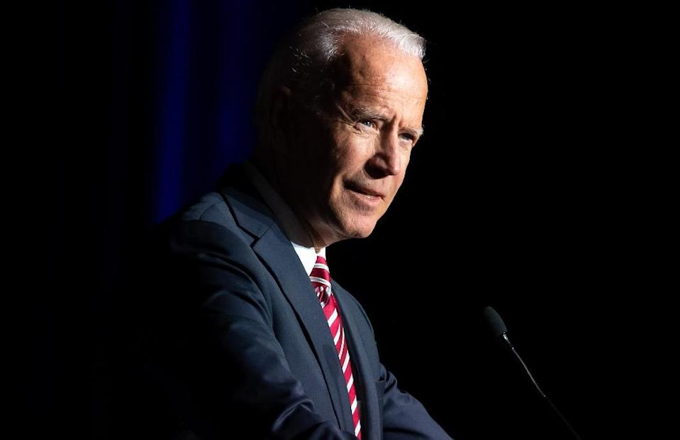 Former US vice president Joe Biden is running for president in 2020, after mounting two unsuccessful campaigns for America's highest office (AFP Photo/SAUL LOEB)