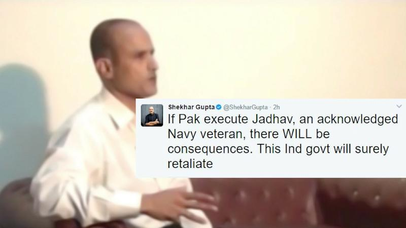 There WILL be Consequences: Indians React on Jadhav's Sentencing