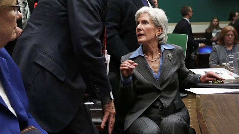 Exasperated Sebelius Caught on Hot Mic: 'Don't Do This to Me'