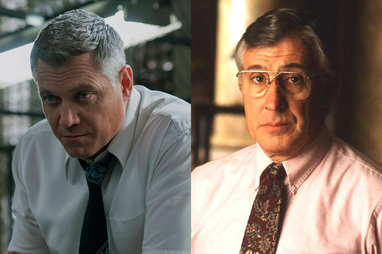 "<p>Ford's collaborator Bill Tench (Holt McCallany) is loosely inspired by Robert K. Ressler, Douglas's real-life colleague in the FBI's Behavioral Sciences Unit. Ressler is credited with coining the term ""serial killer,"" per <a href=""https://www.vulture.com/2017/10/mindhunter-netflix-real-serial-killers.html"" target=""_blank""><em>Vulture</em></a>, and worked on the searches for Jeffrey Dahmer and Ted Bundy. Still, Tench shares much less with Ressler than Ford shares with Douglas.<em></em></p>"