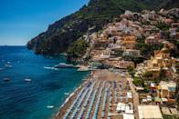 <p>While the beach is often busy and the sun loungers will cost some money, it's impossible to resist the charms of Spiaggia Grande, surrounded by the Amalfi Coast's iconic colourful houses and fragrant bougainvillaea.</p>