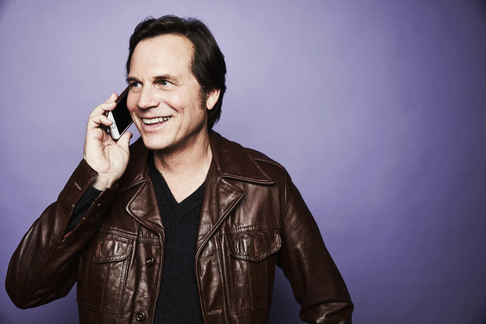 """<p>The actor <a rel=""""nofollow"""" href=""""https://www.yahoo.com/entertainment/bill-paxton-most-memorable-roles-slideshow-wp-175541049.html"""" data-ylk=""""slk:from film;outcm:mb_qualified_link;_E:mb_qualified_link;ct:story;"""" class=""""link rapid-noclick-resp yahoo-link"""">from film</a> (<i>Weird Science</i>, <em>Aliens</em>, <i>Twister</i>) and TV (<i>Big Love</i>, <i>Hatfields & McCoys</i>) died from a stroke on Feb. 25. Eleven days earlier, he had undergone surgery to replace a heart valve and repair damage to his aorta. He was 61. (Photo: Getty Images) </p>"""