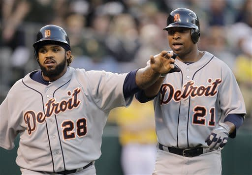 Miguel Cabrera leads Tigers past Athletics, 10-6