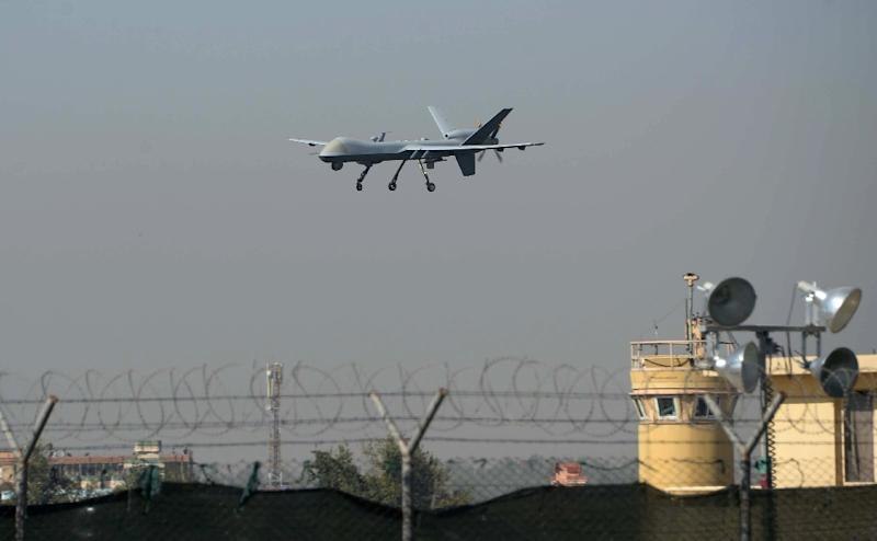 A seemingly ever-expanding global war against extremist groups means the US relies heavily on drones to monitor hostile lands and launch missiles at suspected extremists (AFP Photo/Noorullah Shirzada)