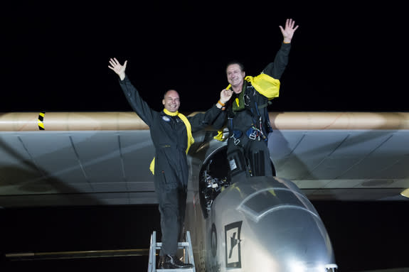 Solar Impulse to Unveil Plane for Around-the-World Flight in 2015