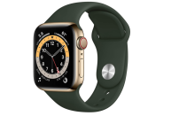 "<p><strong>$389.98</strong></p><p><a href=""https://www.amazon.com/New-Apple-Watch-GPS-Cellular-40mm/dp/B08J5PQGZ2?th=1&tag=syn-yahoo-20&ascsubtag=%5Bartid%7C10063.g.34933508%5Bsrc%7Cyahoo-us"" rel=""nofollow noopener"" target=""_blank"" data-ylk=""slk:BUY IT HERE"" class=""link rapid-noclick-resp"">BUY IT HERE</a></p><p>iPhone users, it's time to get moving. Available in 40mm and 44mm, the Series 6 can track daily exercises including walking, yoga, swimming, and dancing. SP02 tracking rounds out expected features including heart rate, ECG, and sleep monitoring. With Siri built-in, you can send and receive messages, see app notifications and use Apple Pay right from your wrist. And a low charge is the last thing you have to worry about—the Series 6 clocks in with up to 18 hours of battery life.</p>"