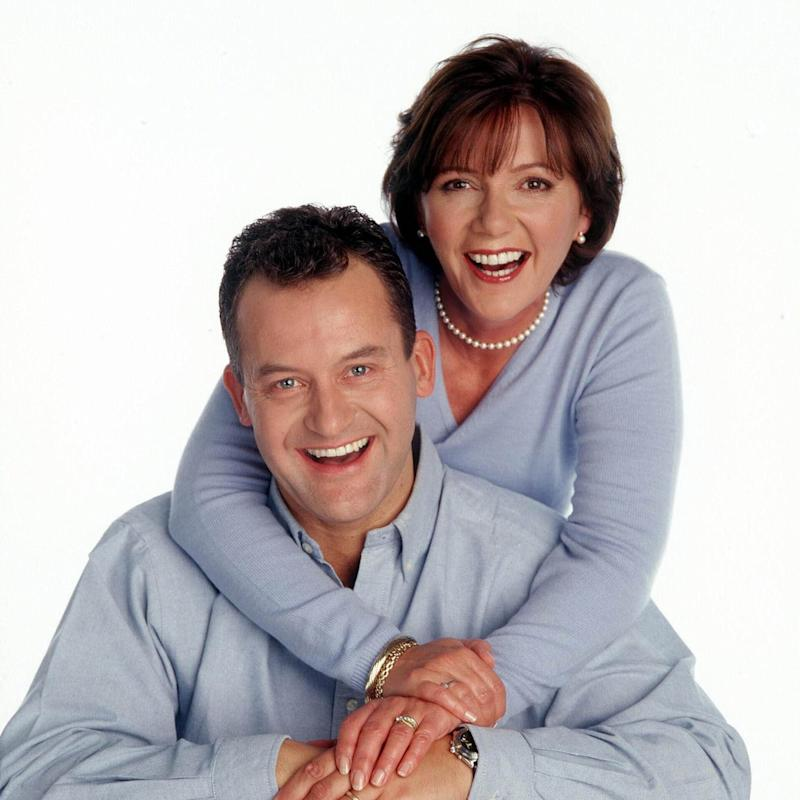 Paul Burrell with his ex wife Maria - Credit: MIKE LAWN/REX FEATURES