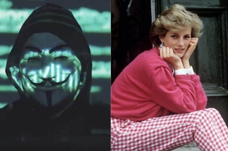 Anonymous is Back, Making Everyone Google About Princess Diana's Death, 22 Years Later