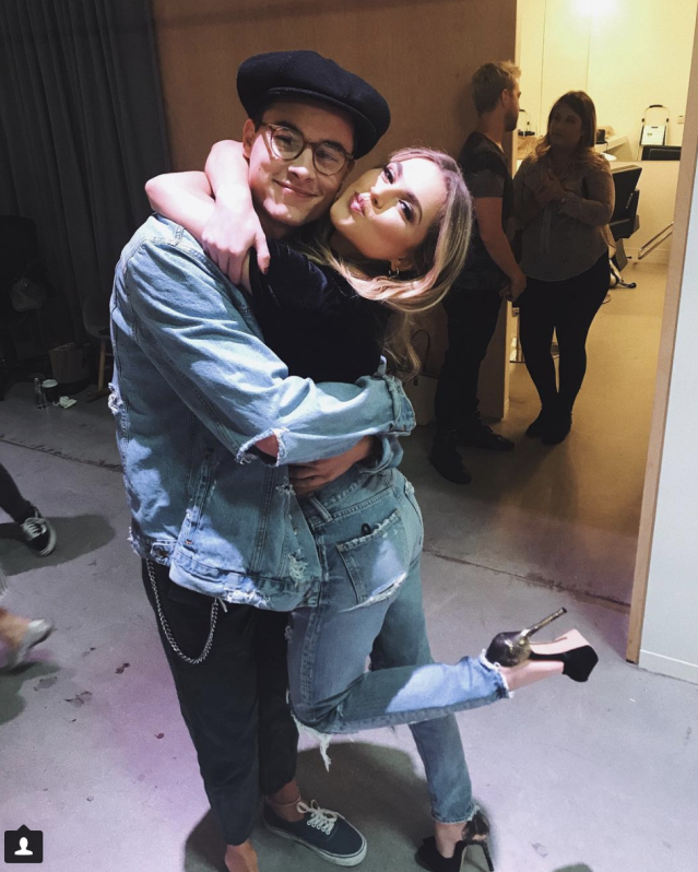 <p>We love each other. @kianlawley you are the Zac to my Mia.-@annewinters (Photo: Instagram) </p>