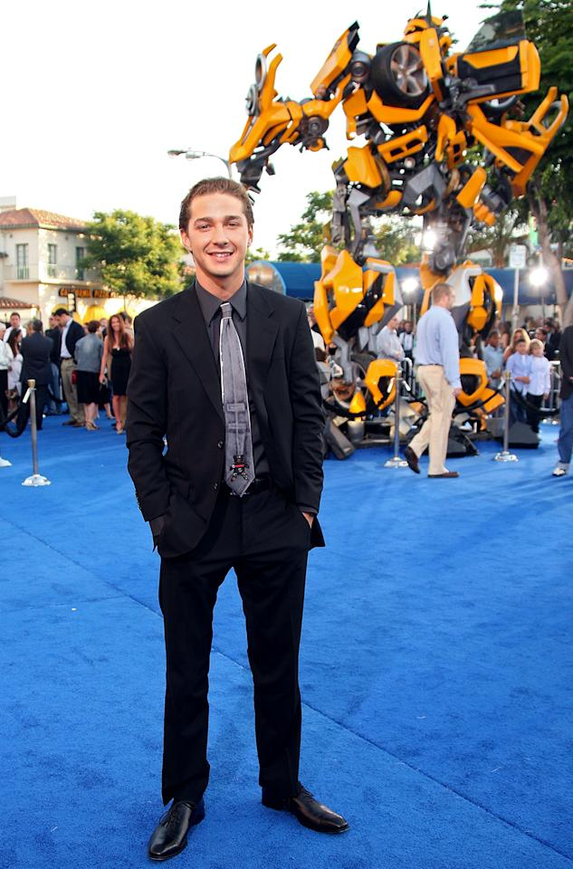 <p>The former Disney Channel star had a breakout year in 2007 — starring in <em>Disturbia</em> and <em>Transformers</em>. (Photo: Frazer Harrison/Getty Images) </p>