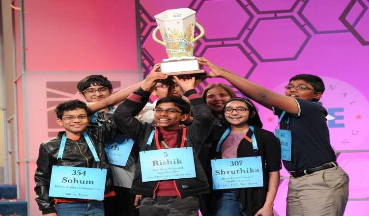 Record 8 students win US National Spelling Bee; 7 of them Indian-origin