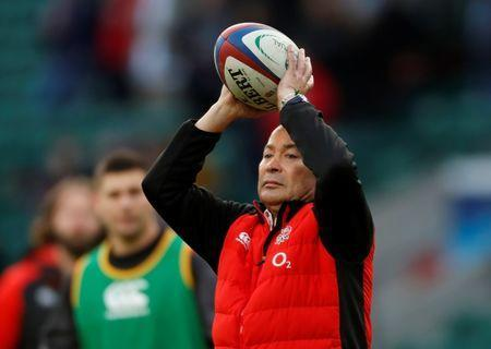 Rugby Union - Autumn Internationals - England vs Samoa - Twickenham Stadium, London, Britain - November 25, 2017 England head coach Eddie Jones before the match Action Images via Reuters/Paul Childs