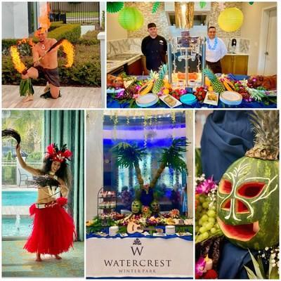 Watercrest Winter Park Assisted Living and Memory Care hosted an open house luau welcoming residents to their new home with the spirit of 'Aloha.'