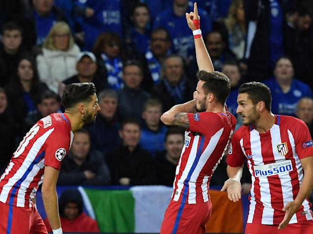 Saul Niguez's header proved enough to send the La Liga side through: Getty