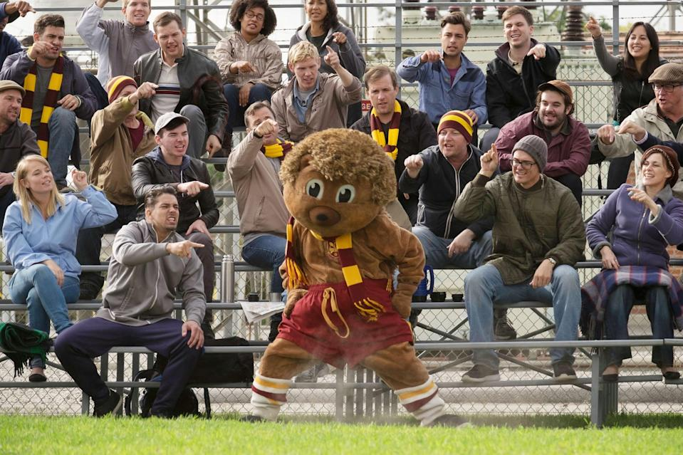"<p>It's the ultimate competition - the World's Greatest Mascot competition, that is. In an off-beat comedy, a group of quirky people compete for the biggest prize in the mascot world: the Gold Fluffy.</p> <p><a href=""http://www.netflix.com/title/80075476"" class=""link rapid-noclick-resp"" rel=""nofollow noopener"" target=""_blank"" data-ylk=""slk:Watch it now."">Watch it now.</a></p>"