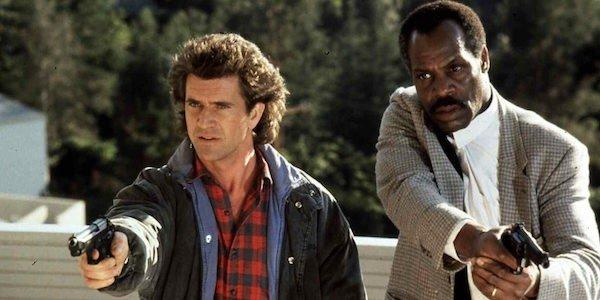 Gibson and Glover in Lethal Weapon (Credit: Warner Bros)