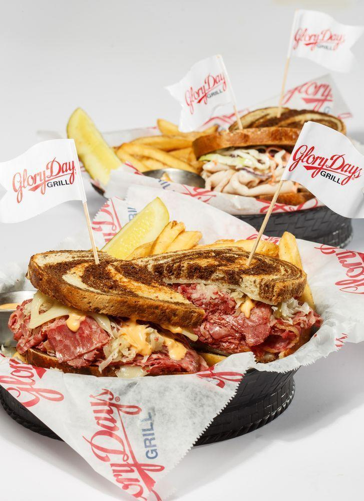 """<p><a href=""""http://www.yelp.com/biz/glory-days-grill-ranson"""" rel=""""nofollow noopener"""" target=""""_blank"""" data-ylk=""""slk:Glory Days Grill"""" class=""""link rapid-noclick-resp"""">Glory Days Grill</a>, Ranson</p><p>""""My wife and I had a great experience. The server constantly checked on us to make sure everything was ok. The service was very friendly. I had the turkey burger and my wife had the prime cheese burger. The boneless wings appetizer were great but their hottest sauce could be kicked up a couple more notches. Overall 5 stars and we'll be back again."""" - Yelp user <a href=""""https://www.yelp.com/user_details?userid=_bQa29FOgTJVkC79fBPaow"""" rel=""""nofollow noopener"""" target=""""_blank"""" data-ylk=""""slk:Dan J."""" class=""""link rapid-noclick-resp"""">Dan J.</a></p>"""
