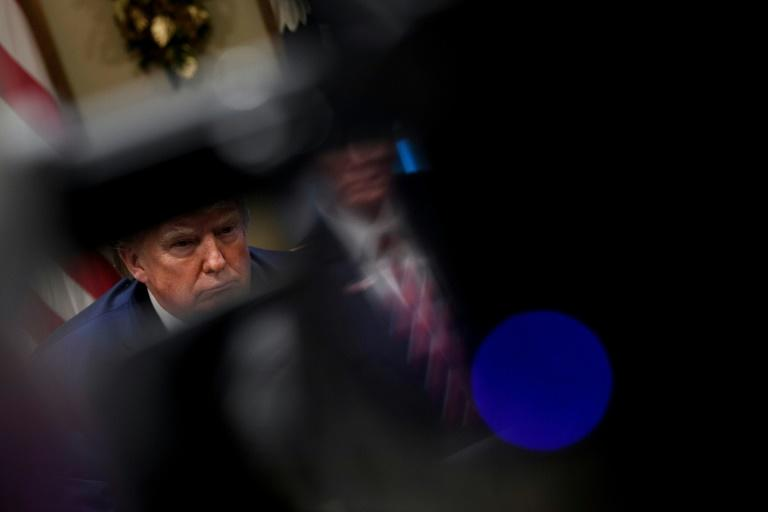 Facing almost certain impeachment, US President Donald Trump again labeled the case against him a 'witch hunt'