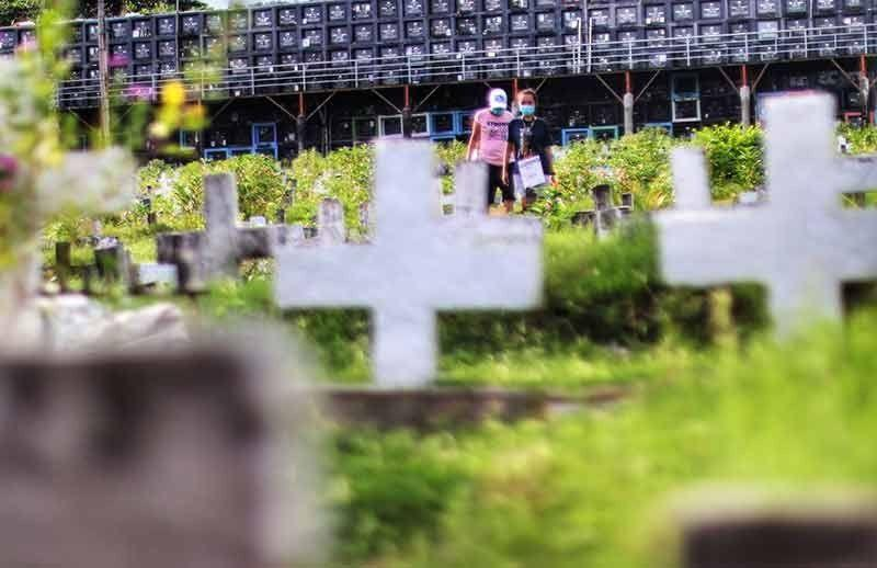 Minors, senior citizens not allowed to visit cemeteries