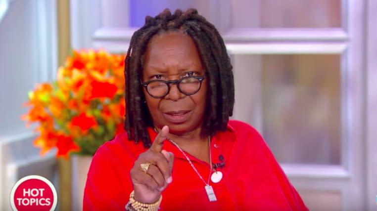 Whoopi Goldberg Is Officially 'Pissed Off' At Mike Huckabee