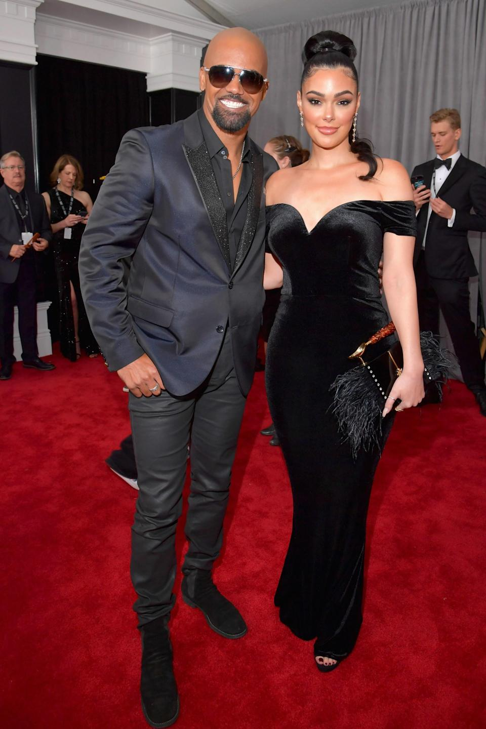 """<h1 class=""""title"""">Shemar Moore and Anabelle Acosta in Messika</h1><cite class=""""credit"""">Photo: Getty Images</cite>"""