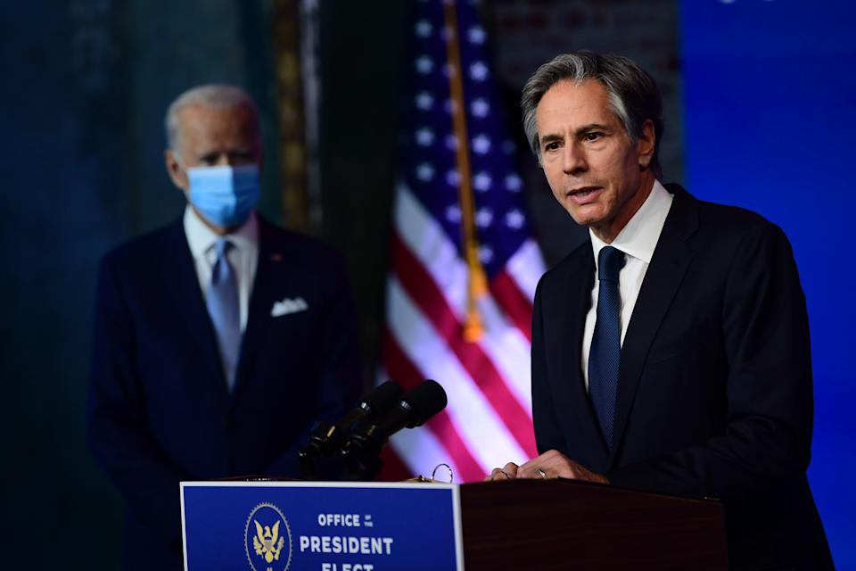 <p>Antony Blinken was confirmed by the Senate to become the next secretary of state.</p> (Getty Images)