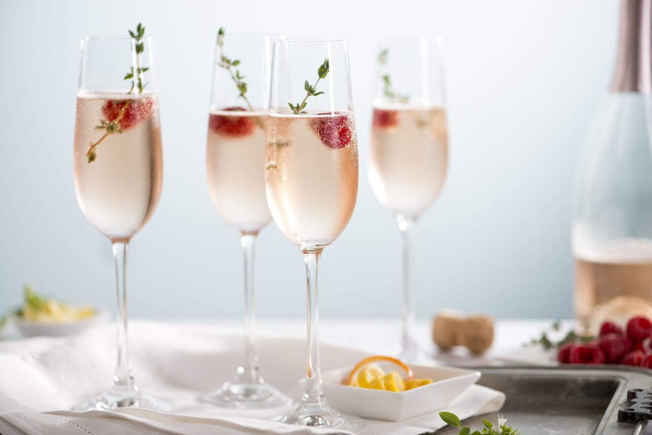 <p>Champagne cocktails and drinks made with sparkling wine will always be a welcome treat - no matter the time of year - and always make for an impressive serve at a dinner party, so it's a good idea to have some easy recipes up your sleeve. Whether you're throwing a (small, socially distanced) gathering, having some pre-drinks before heading out or are simply treating yourself, as you should, here are our favourite recipes to try. </p>