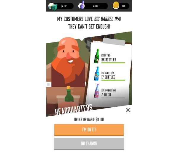 'Brew Town' will let you live our your hipster fantasy of being a craft beer brewer.