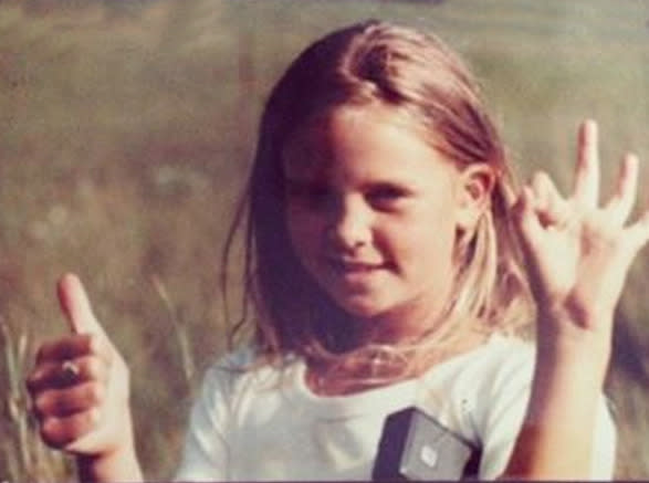 """<p>Actress Charlize Theron as a schoolgirl in her native South Africa: """"In school I learned to work hard, dream big and ALWAYS believe in myself #62MillionGirls don't have that chance. Share what you learned in school with your photo and #62MillionGirls to join our yearbook at 62milliongirls.com"""" -<a href=""""https://instagram.com/p/8L4IPJGmq0/"""" rel=""""nofollow noopener"""" target=""""_blank"""" data-ylk=""""slk:@charlizeafrica"""" class=""""link rapid-noclick-resp"""">@charlizeafrica</a> (Instagram)</p>"""