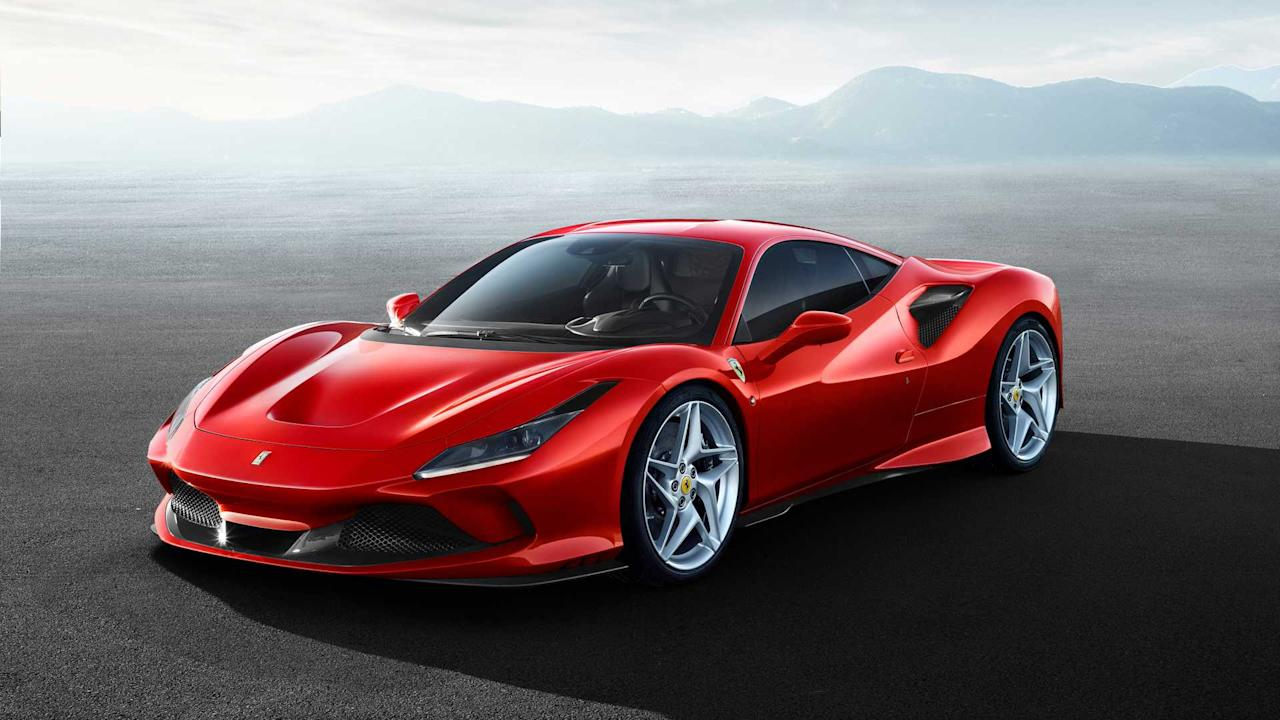 """<h3>0-62 mph: 2.9 Seconds</h3> <p>The <a href=""""https://uk.motor1.com/ferrari/f8-tributo/"""">Ferrari F8 Tributo</a> is the brand's recent replacement to the 488 GTB. It boasts a twin-turbo 3.9-litre V8 making 710 bhp, and the coupe can reach 62 mph in 2.9 seconds. This Prancing Horse borrows styling elements from classic models like the <a href=""""https://www.motor1.com/tag/ferrari-308/"""">308</a> and <a href=""""https://uk.motor1.com/tag/ferrari-f40/"""">F40</a>, but the new model still isn't quite as quick to 62 mph as the Taycan.</p> <h2>Learn more about the F8:</h2><br><a href=""""https://uk.motor1.com/news/307251/ferrari-f8-tributo-revealed/"""">Ferrari F8 Tributo revealed as 488 GTB replacement in Geneva</a><br>"""