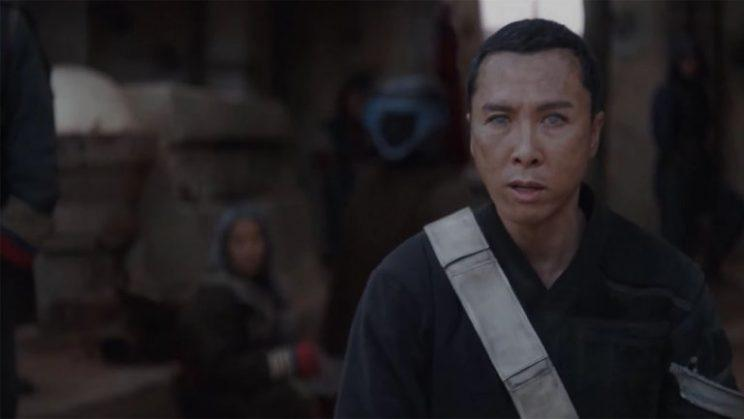 Donnie Yen in 'Rogue One' (Photo: Lucasfilm/Disney)