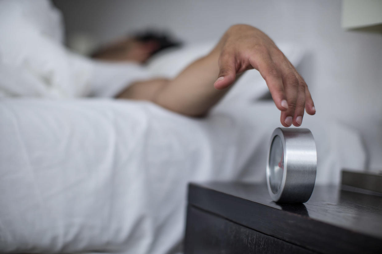 <em>Snoozing your alarm isn't actually very good for you, according to Professor Jason Ellis, director of the Northumbria Centre for Sleep Research (Picture: Getty)</em>