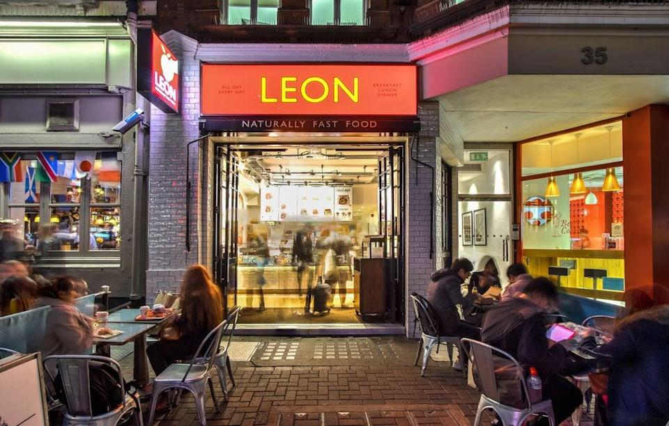 The deal comes months after EG bought food chain Leon (Leon/PA) (PA Media)