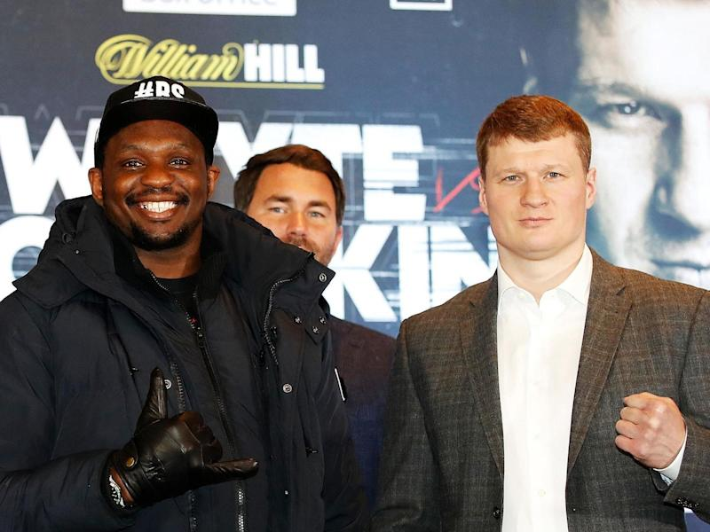 Whyte and Povetkin will clash in Eddie Hearn's garden: PA