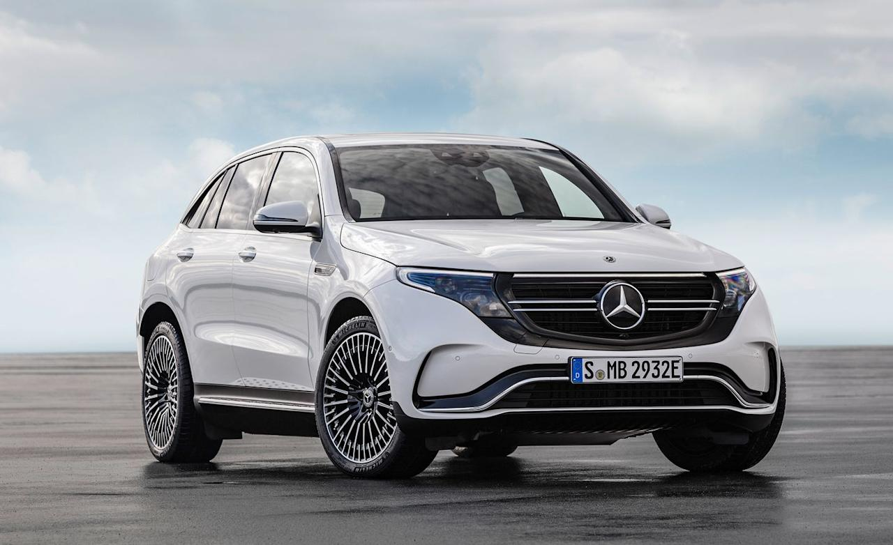 "<p>While the EQC rides on the same basic platform as <a rel=""nofollow"" href=""https://www.caranddriver.com/mercedes-benz/glc-class"">the similarly sized GLC crossover</a>, Gebel emphasized that more than 85 percent of its parts and components are totally new. The GLC platform was easy to modify to the exact needs of the EQC, and it was a lot cheaper to develop than a stand-alone EV platform-although Mercedes is working on one of those for future EQ models.</p>"