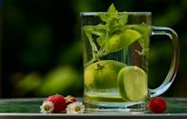 Time and again we are reminded to drink enough water. But if you find water boring and bland, then add few slices of lemon and mint leaves for some refreshing flavour to the water.