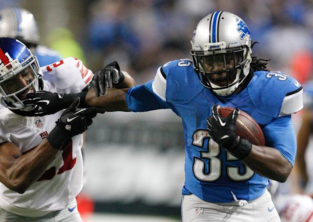 Lions tender running back Joique Bell, later receives 3-year, $9.3 million extension